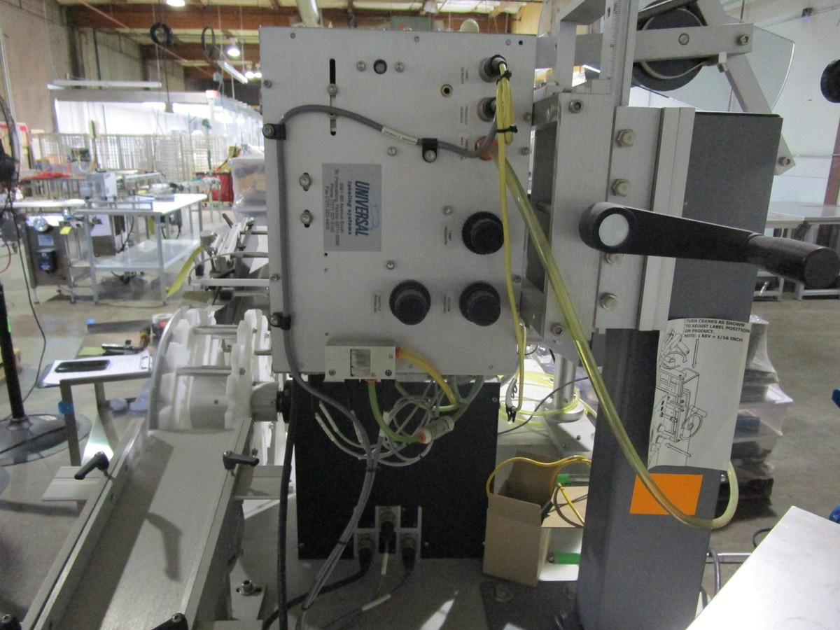 Universal R-315 Carrousel/L-15 Labeling System/L-60 Left Hand s/n 718-004-1-05-1064 | Rig Fee: $50 - Image 5 of 10