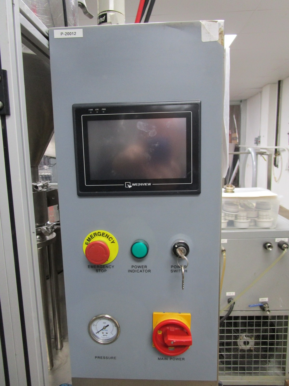 2011 TotalPacks TFS-100A Automatic Hot Air Tube Filler, s/n 5ML-250ML, Hopper & Part | Rig Fee: $650 - Image 7 of 12