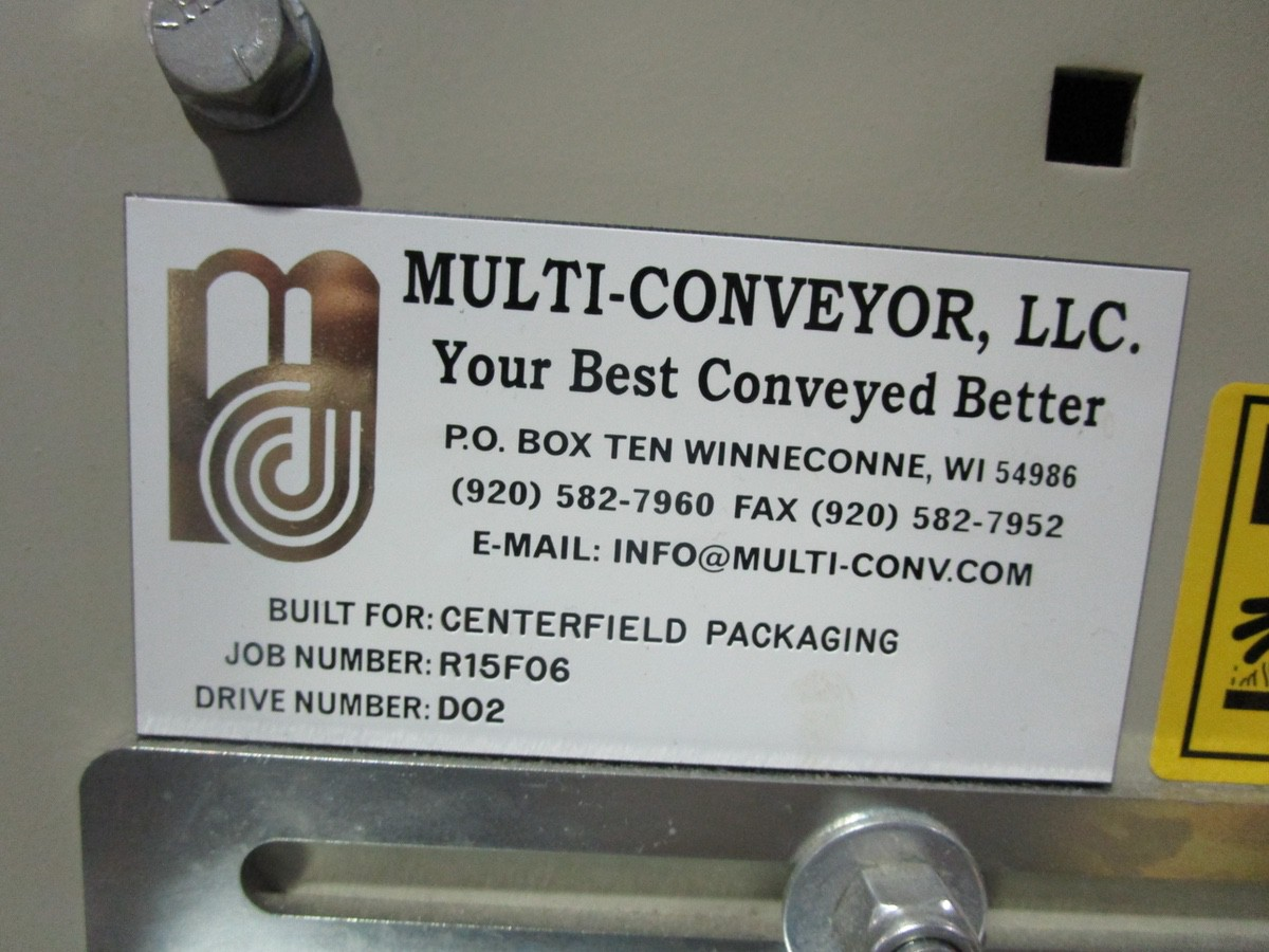 "4.5"" x 14' Slat Belt Conveyor with Accutek DeCapper   Rig Fee: $125 - Image 5 of 5"