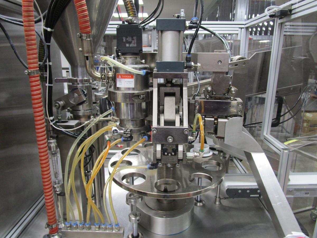 Lot 15 - 2012 JDA Packaging Equipment Super 30 Automatic 9-Pocket Hot Air Tube Filler s/n 230 | Rig Fee: $650