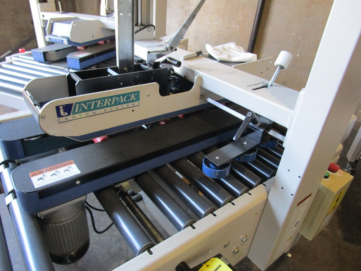 Interpack USA 2024-SB Top and Bottom Case Sealer s/nTM09406B011 | Rig Fee: $100 - Image 2 of 3