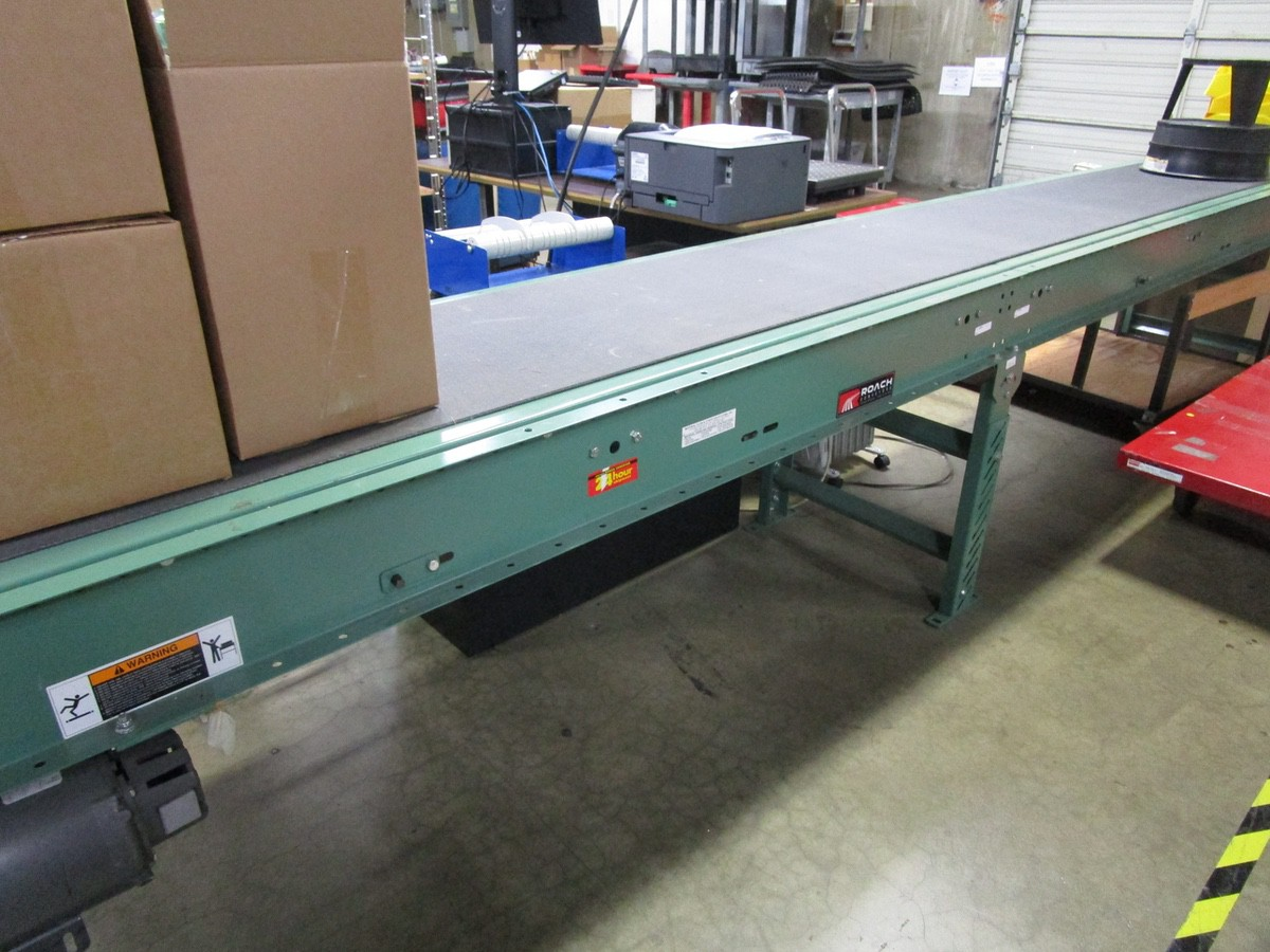 "18"" x 15' Power Conveyor with Roller Conveyor | Rig Fee: $100 - Image 2 of 6"