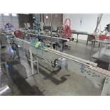 "4.5"" x 14' Slat Belt Conveyor with Accutek DeCapper | Rig Fee: $125"