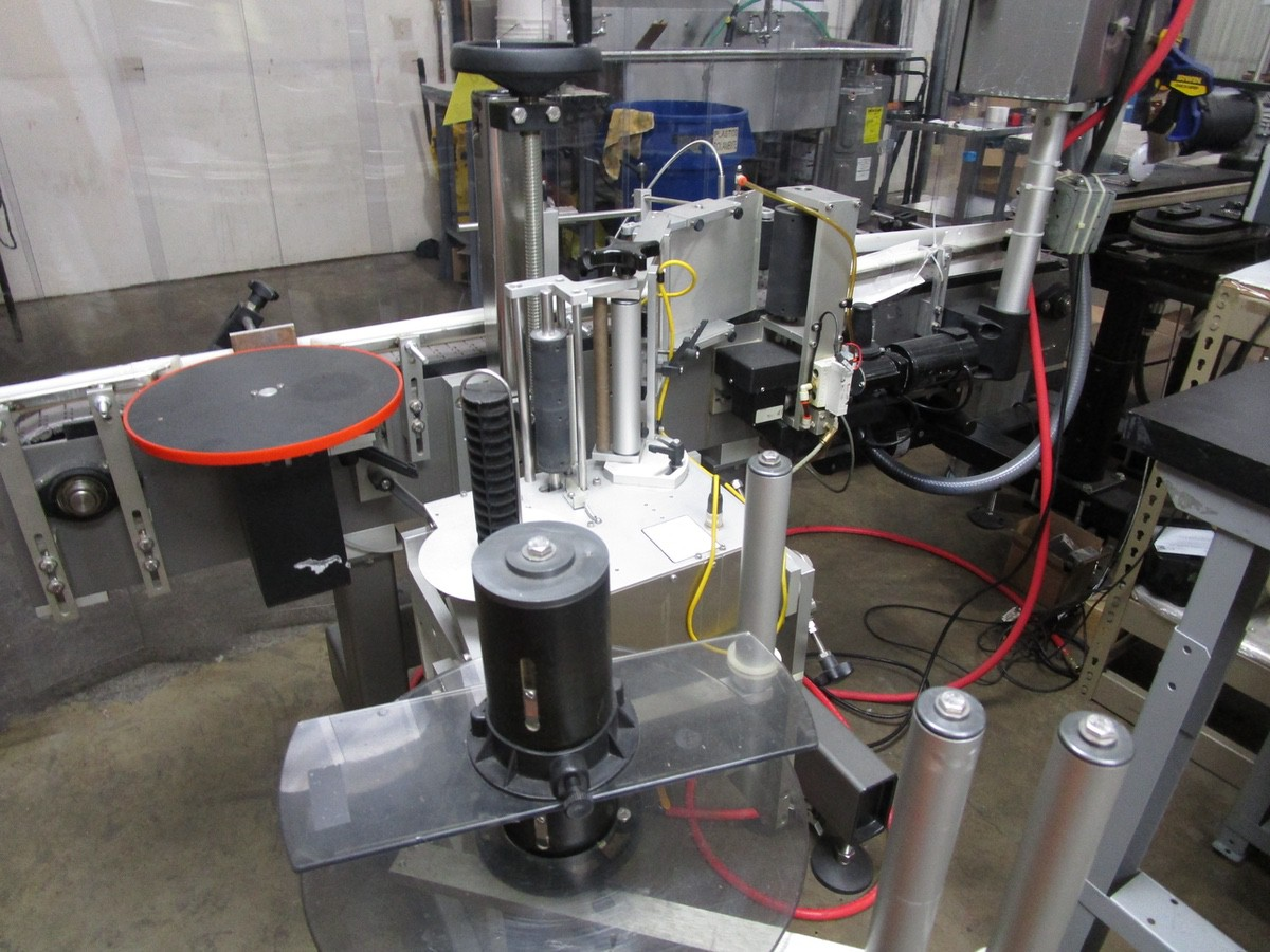 2017 Universal R320 Round Product Labeler s/n R320-06C-1142L, R.L. Craig Dual Side | Rig Fee: $50 - Image 3 of 8