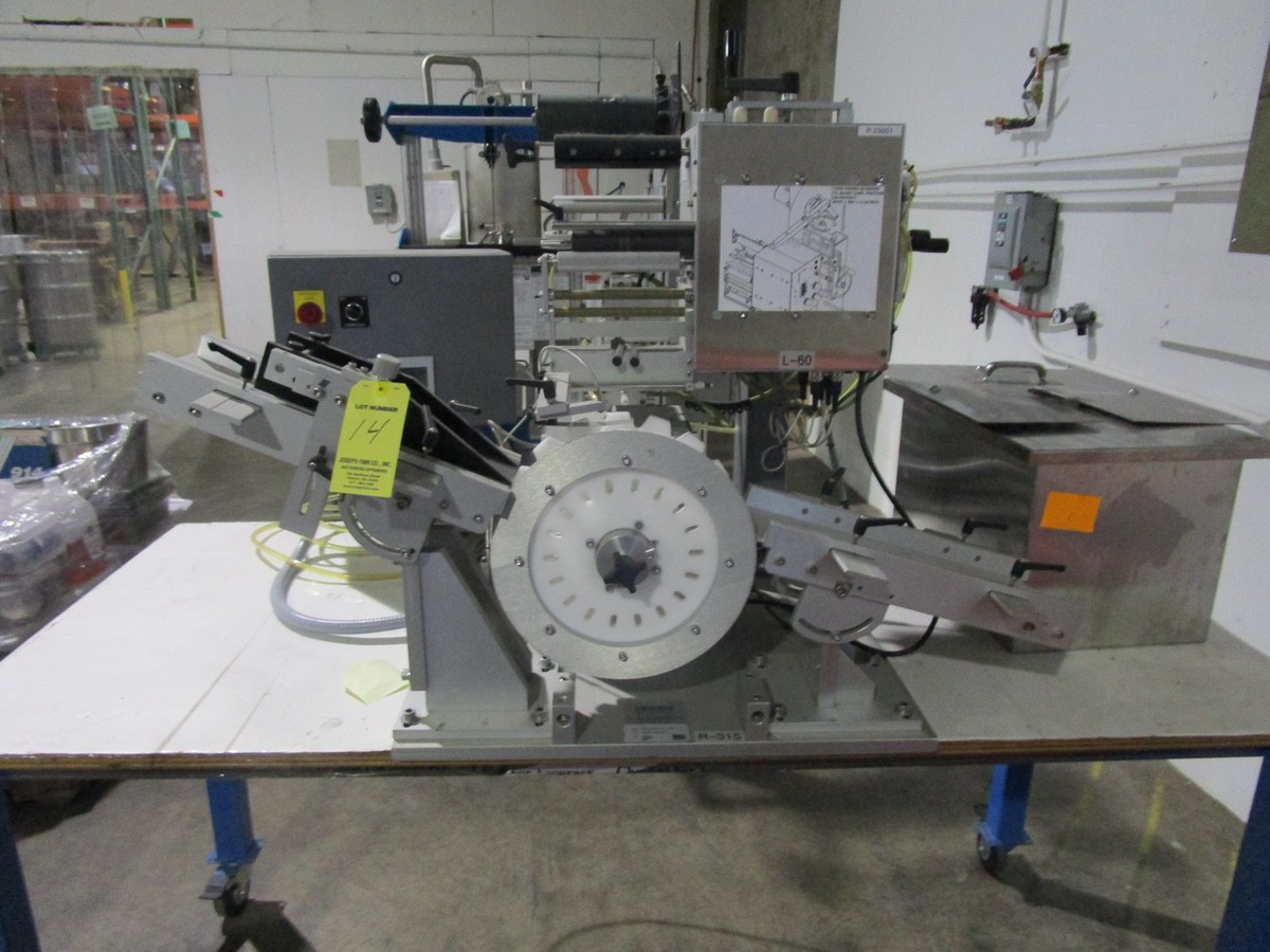 Universal R-315 Carrousel/L-15 Labeling System/L-60 Left Hand s/n 718-004-1-05-1064 | Rig Fee: $50
