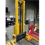 "2017 Uline H5440 Straddle Stacker s/n 25150900361, 2,200#, 137.8"" Lift with Charger 