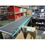 "18"" x 15' Power Conveyor with Roller Conveyor | Rig Fee: $100"