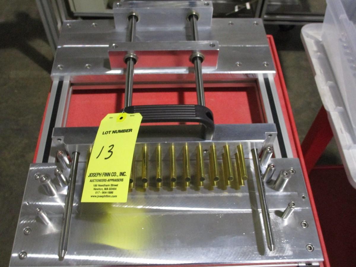 Lot 13 - 2013 Cavalla K15 Flexfill 6 Bottom Up Lipstick Semi Automatic Modular Lipstick Produ | Rig Fee: $300