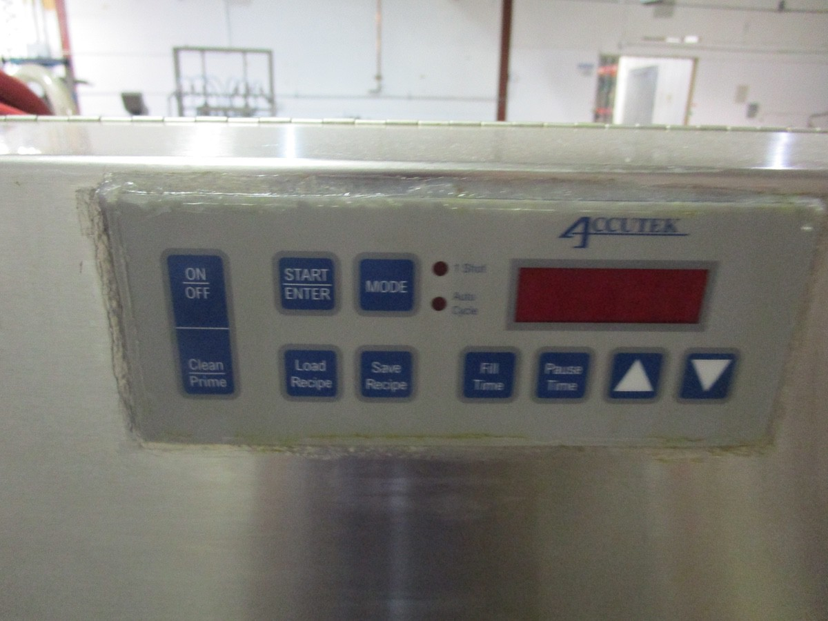 2004 Accutek AT/AP Perfume Production Line, Mini-Pinch 11-Head Filler s/n A-17-20132 | Rig Fee: $300 - Image 3 of 6