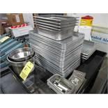 SS & Aluminum Trays, Bins | Rig Fee: $0