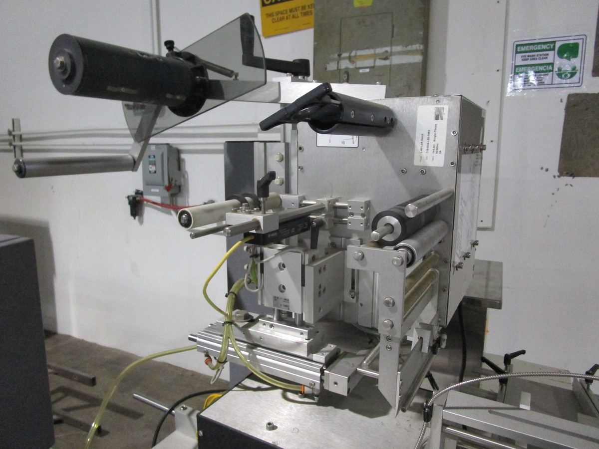 Universal R-315 Carrousel/L-15 Labeling System/L-60 Left Hand s/n 718-004-1-05-1064 | Rig Fee: $50 - Image 3 of 10
