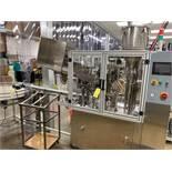 2011 TotalPacks TFS-100A Automatic Hot Air Tube Filler, s/n 5ML-250ML, Hopper & Part | Rig Fee: $650