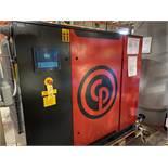2016 Chicago Pneumatic CPBG 50 D UL Rotary Screw Air Compressor, Air Tank, 1,100 Hou | Rig Fee: $500