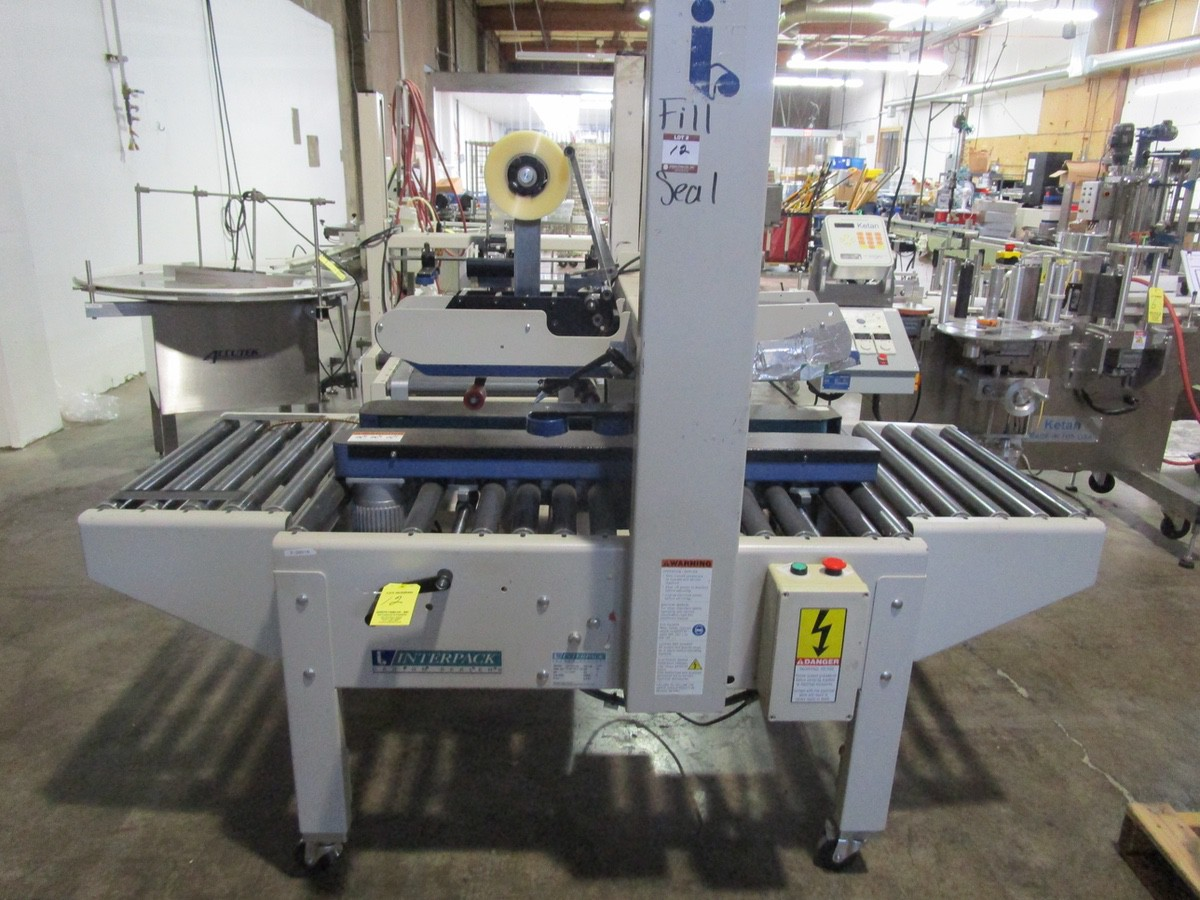 Lot 12 - Interpack USA 2024-SB Top and Bottom Case Sealer s/nTM09404F102 | Rig Fee: $100