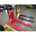 Dayton 2ZE61 Pallet Jack with Scale, 4,400# | Rig Fee: $0