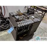 CART WITH HOLDDOWNS **RIGGING FEE DUE INDUSTRIAL SERVICES $50.00, PRICE VALID UNTIL 2/14**
