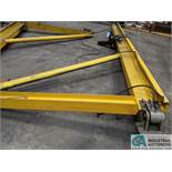 COLUMN MOUNT JIB CRANES WITH PNEUMATIC HOISTS; (1) 2 TON & (1) 1/2 TON **RIGGING FEE DUE