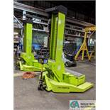 "80,000 LB AUTOMOTIVE RESOURCES ""ARI-HETRA"" MDOEL HDML18 2-POST MOBILE LIFTING SYSTEM, S/N'S"
