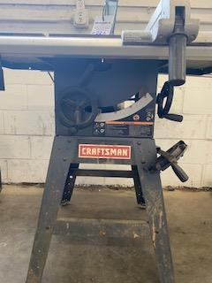 "CRAFTSMAN 10"" TABLE SAW - Image 2 of 2"