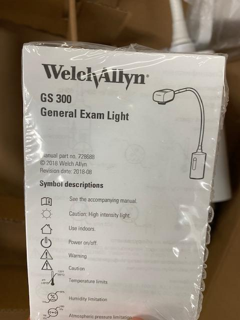 WELCH ALLYN NEW EXAM LIGHT GS300 - Image 2 of 2