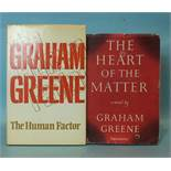 Greene (Graham), The Heart of the Matter, 1st edn, dwrp, cl, 8vo, William Heinemann Ltd, The Book