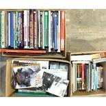 A quantity of books on railways.