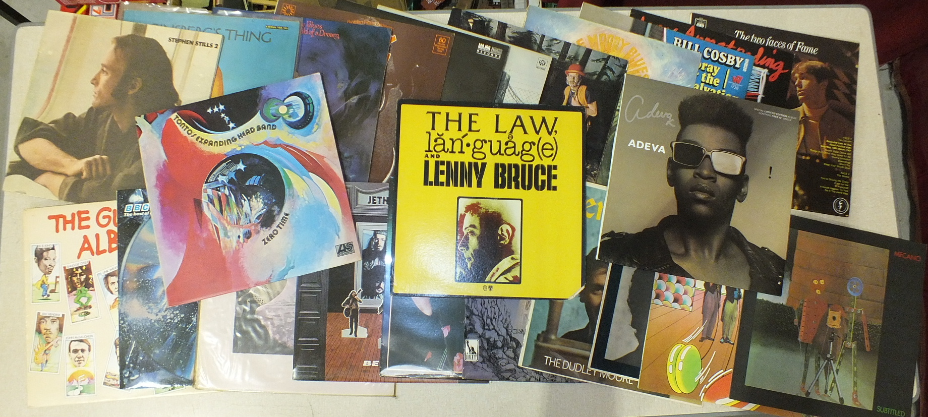 Lot 511 - A collection of approximately sixty various LP's, including Elton John, The Animals, etc. and a