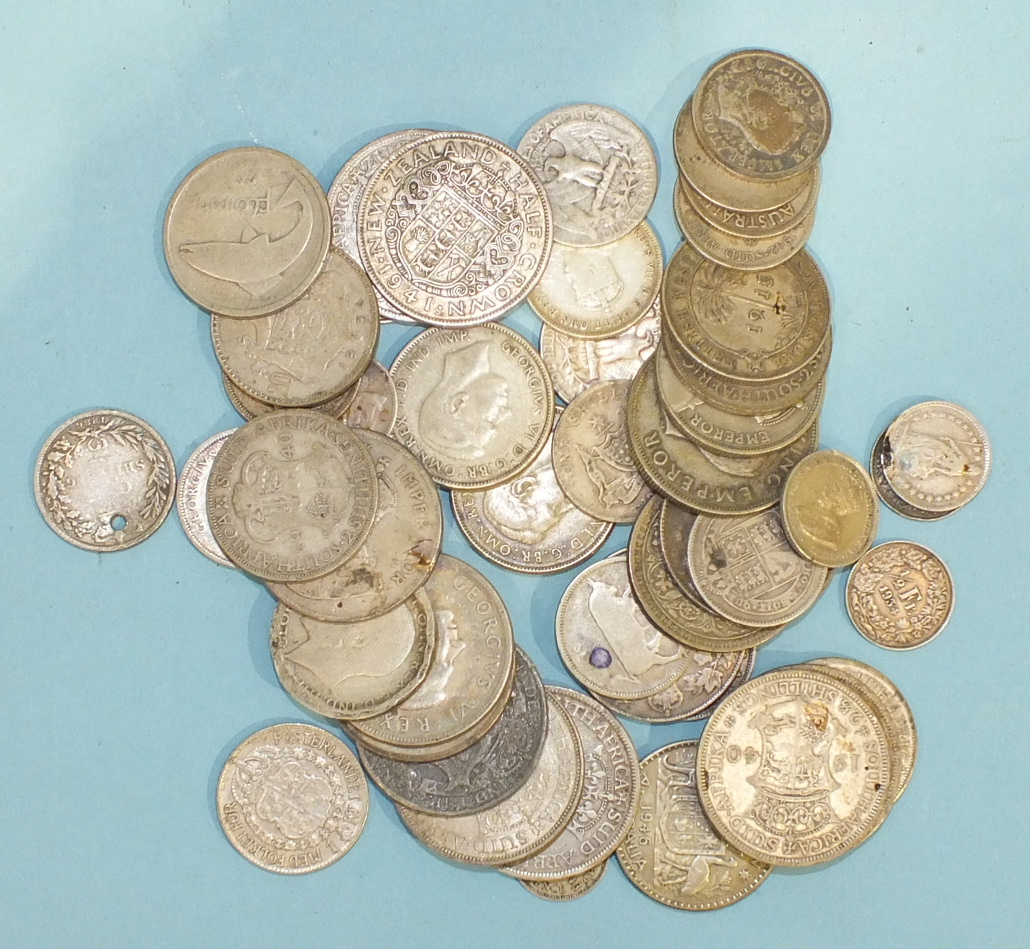 Lot 165 - A collection of mainly foreign coinage, including silver.
