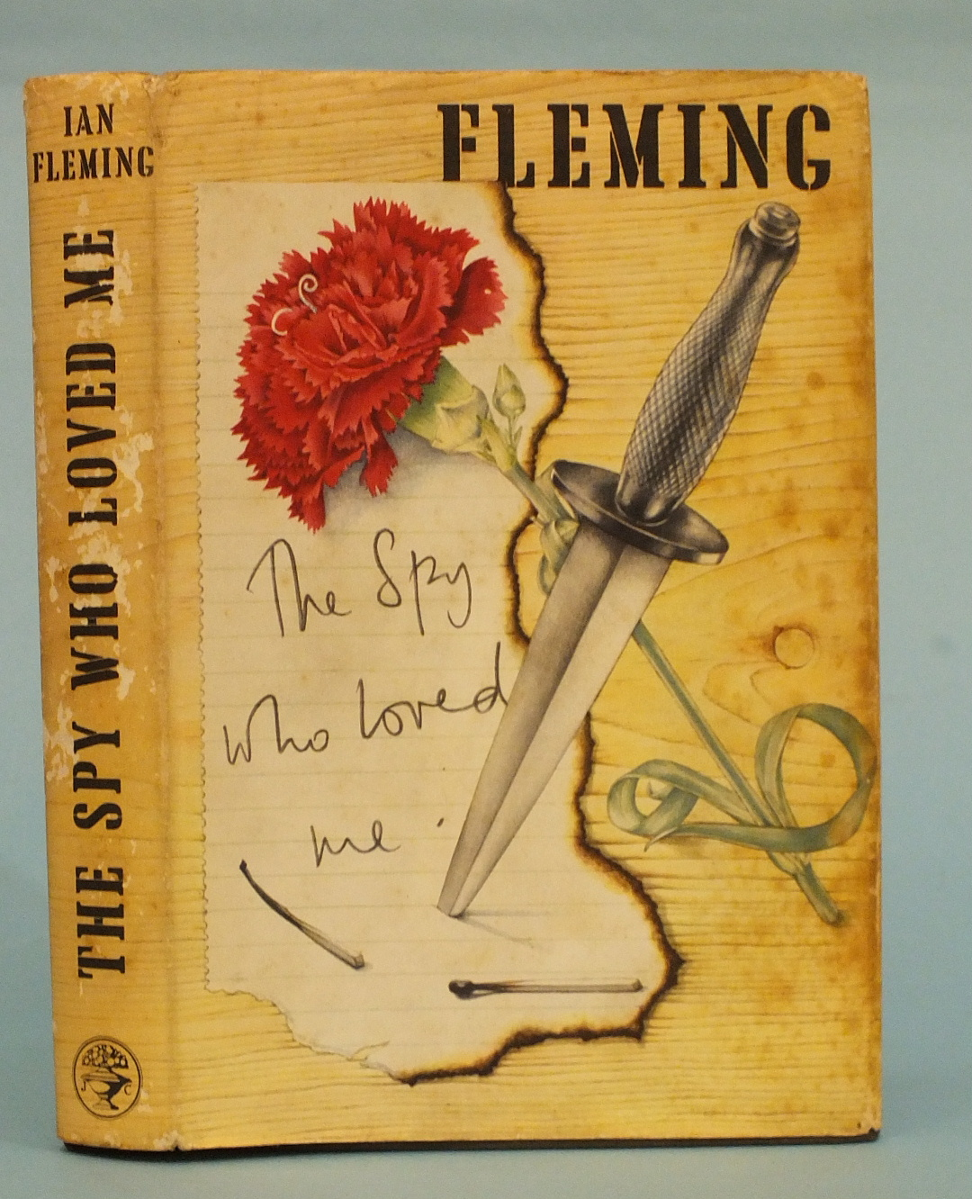 Lot 9A - Fleming (Ian), The Spy Who Loved Me, 1st edition, black cl with dagger, 8vo, 1962.