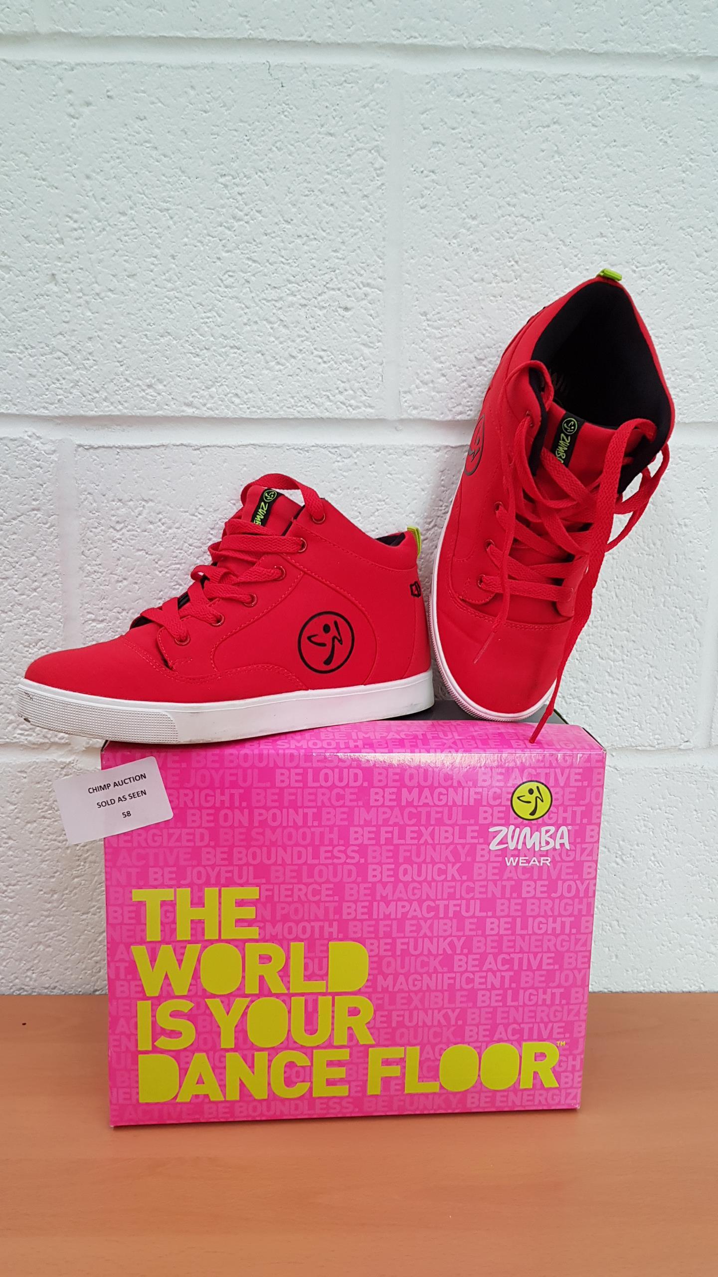 Lot 58 - Zumba Street Fresh shoes EU SIZE 38
