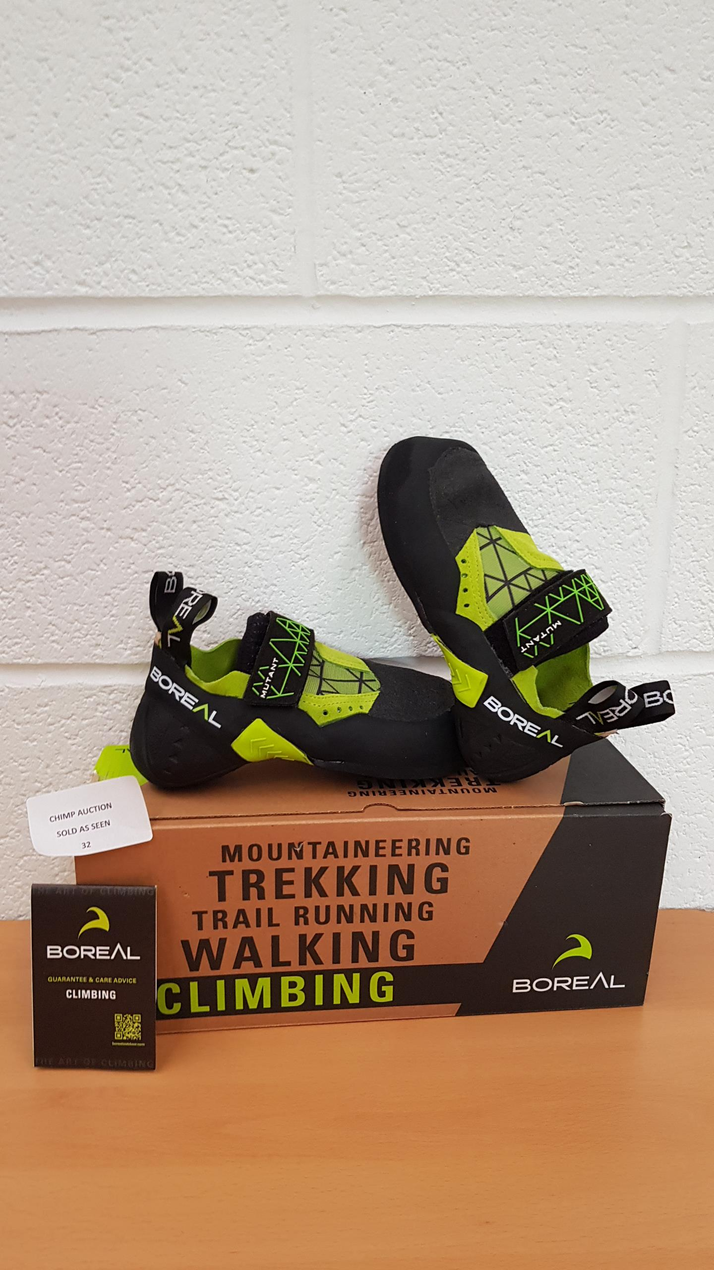 Lot 32 - Boreal Mutant Trekking, climbing shoes UK SIZE 4.5 RRP £129.99