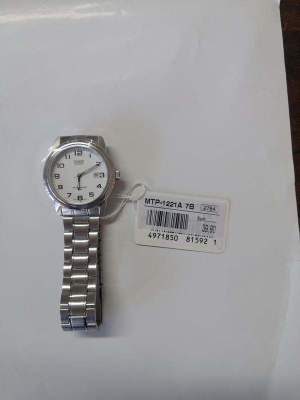 Lotto 27 - N. 1 (ES. N° 1316/19 IVG N° 5.703) OROLOGIO CASIO MTP 1221ATB (BENI IN VIA GULINELLI 9 FERRARA