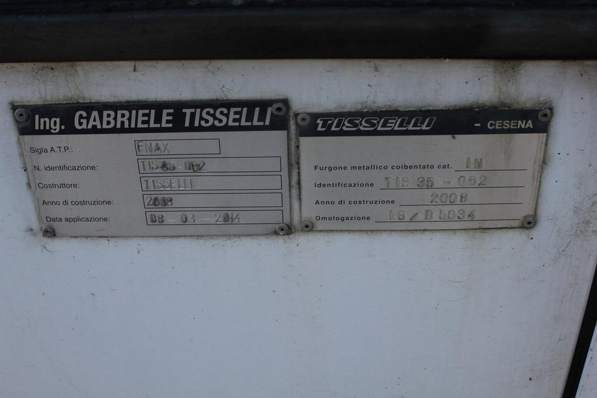 Lotto 21 - N. 2 (651 IVG L.C.A) AUTOCARRO NISSAN INTERSTAR TARGATO DM088RT COMPLETO DI IMPIANTO FRIGORIFERO