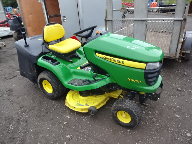 2008 john deere x300r ride on lawn tractor c w collector. Black Bedroom Furniture Sets. Home Design Ideas