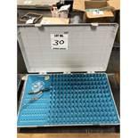 (1) GAGE MAKERS .061-.250 PIN GAGE SET