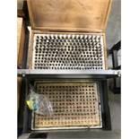 -2 (1) .250-.500 PIN GAGE SET (1) MEYER GAGE CO .059-.250 PIN GAGE SET