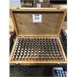 (1) GAGE MAKERS .501-.625 PIN GAGE SET