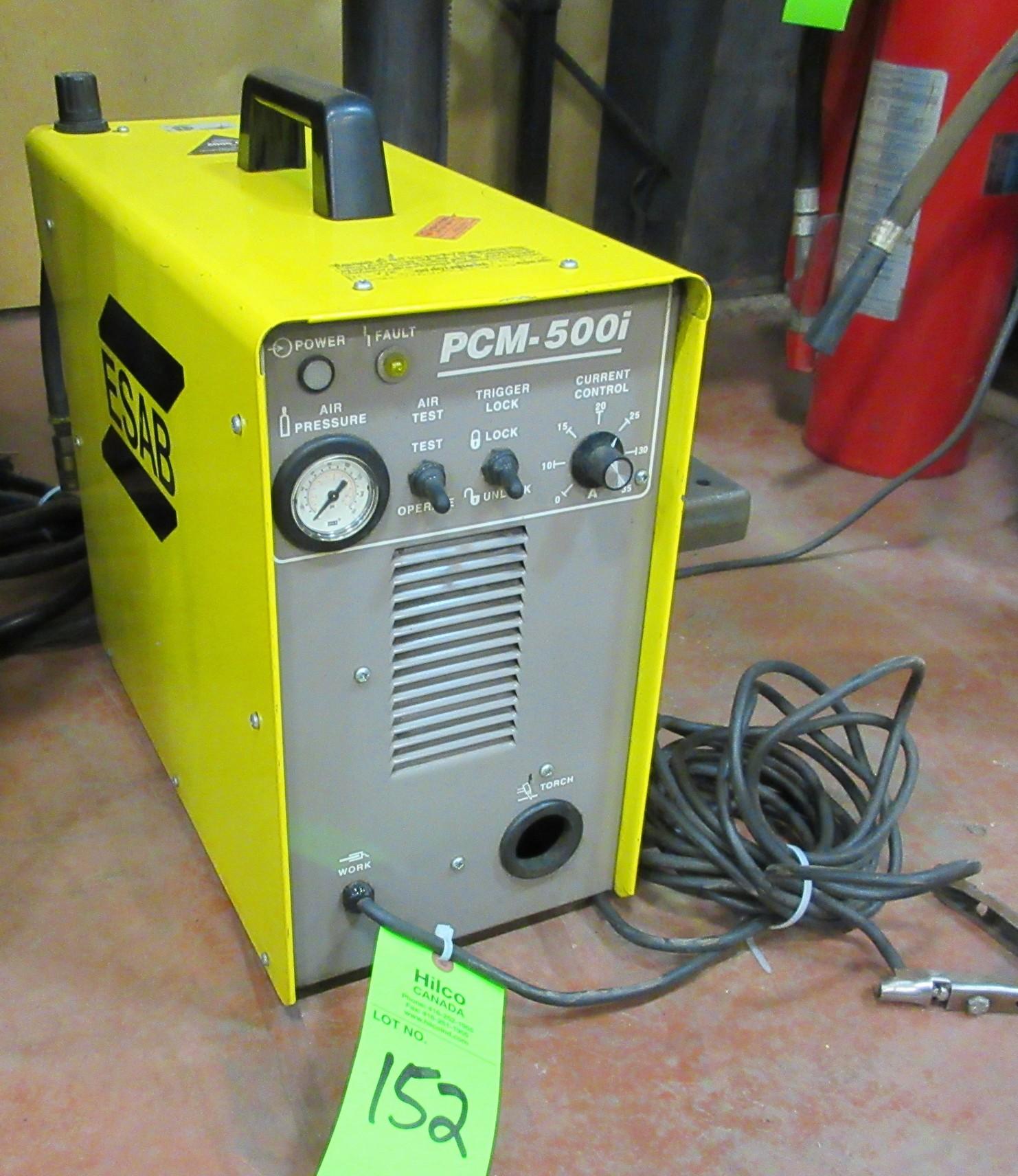 Esab Model Pcm 500i Plasma Cutter Circuit Lot 152