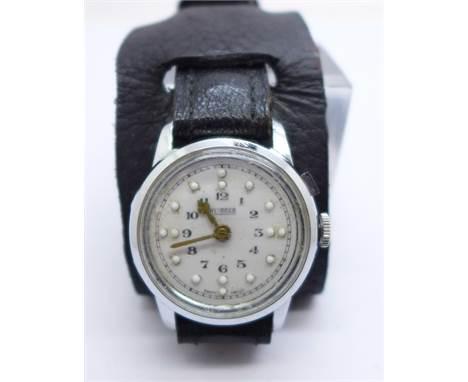 A Moser Braille wristwatch