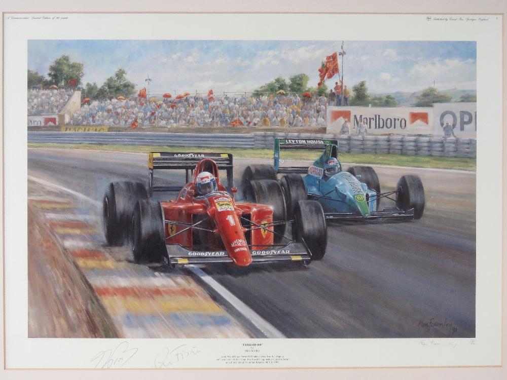 Lot 59 - Signed limited edition print. 'Ferrari 1