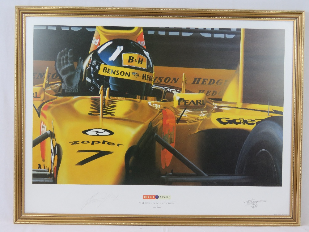Lot 100 - Limited edition print; 'Farewell from a
