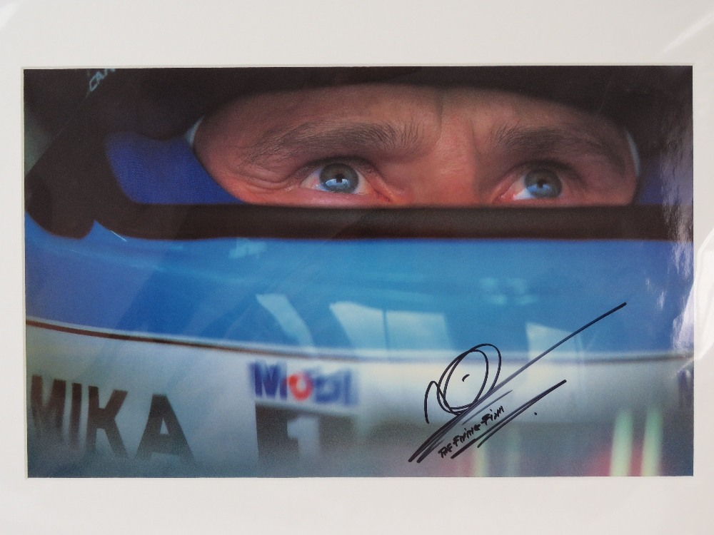 Lot 37 - Signed and mounted photographic print; D