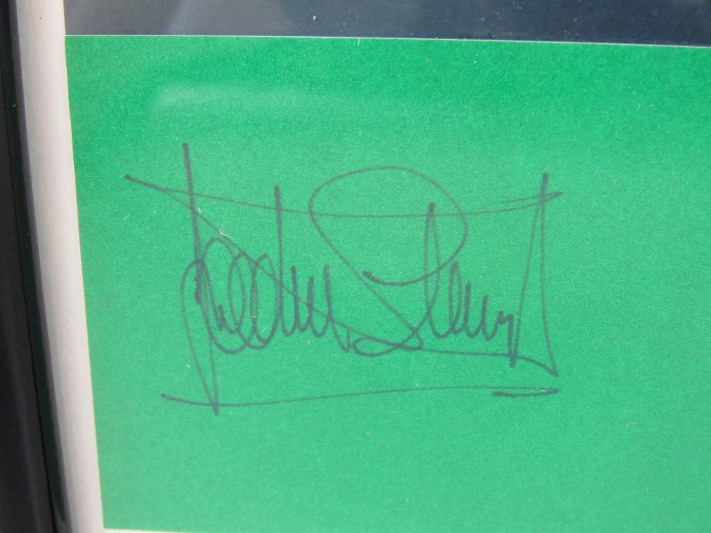 Lot 79 - A large publicity photograph hand signed