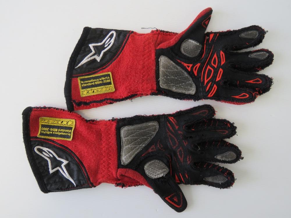 Lot 28 - A pair of Alpinestars Tech 1-ZX racing g