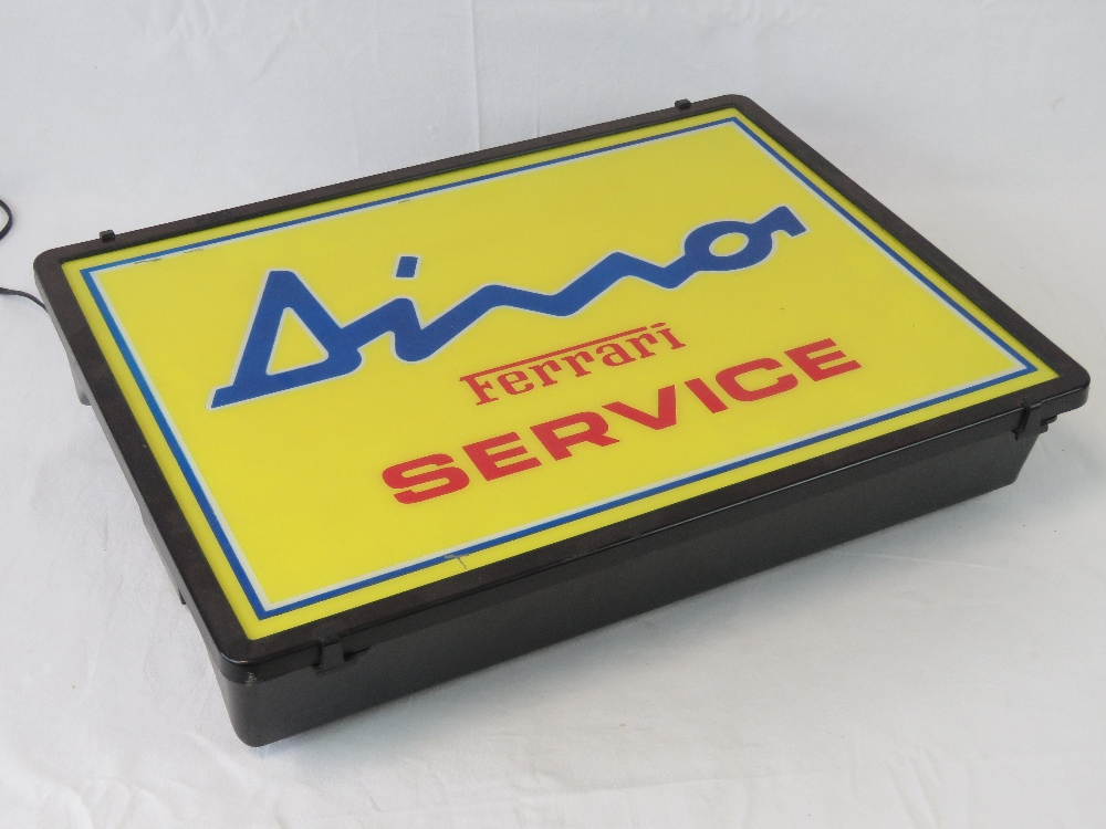 Lot 2 - Original Dino Service Sign from the 1970