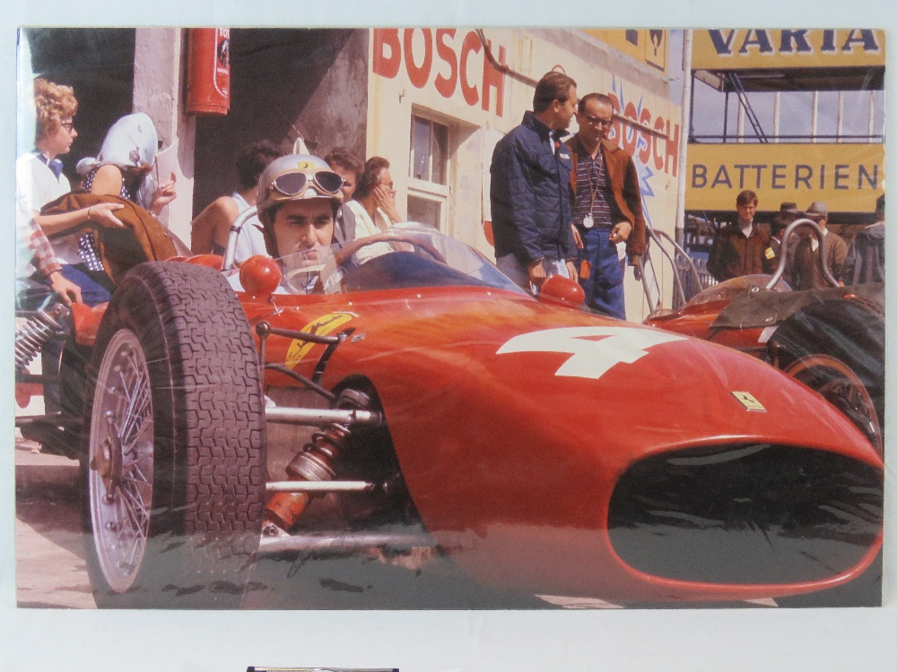 Lot 92 - A colour print of Lorenzo Bandini sittin