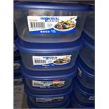 LOT: (35 pcs) SEALED CONTAINERS, 0.94 L
