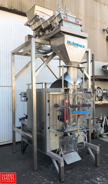 NEW, NEVER USED Weighpack Vertek 1600 Vertical Form, Fill & Seal System Model Vertek-1600-POLY-JAW - Image 3 of 8