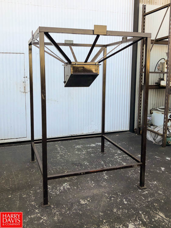 """54"""" Square Bag Holding Cage and Bag Dumping Station, 52"""" Discharge Height **SUBJECT TO BULK - Image 2 of 3"""