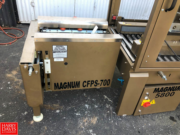 Magnum 700 Case Former and Magnum 5800 Top and Bottom Case Sealer **SUBJECT TO BULK BIDDING** - Image 2 of 10